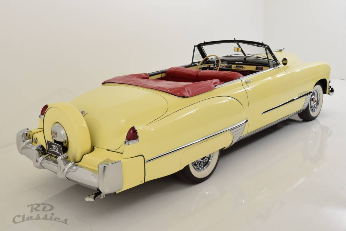 1949 Cadillac Series 62 Convertible / Continental Kit! For Sale (picture 1 of 6)