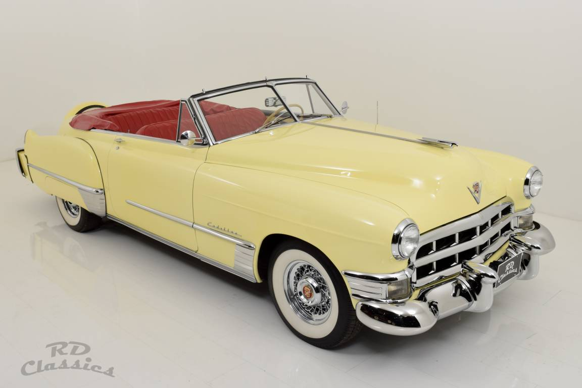 1949 Cadillac Series 62 Convertible / Continental Kit! For Sale (picture 2 of 6)