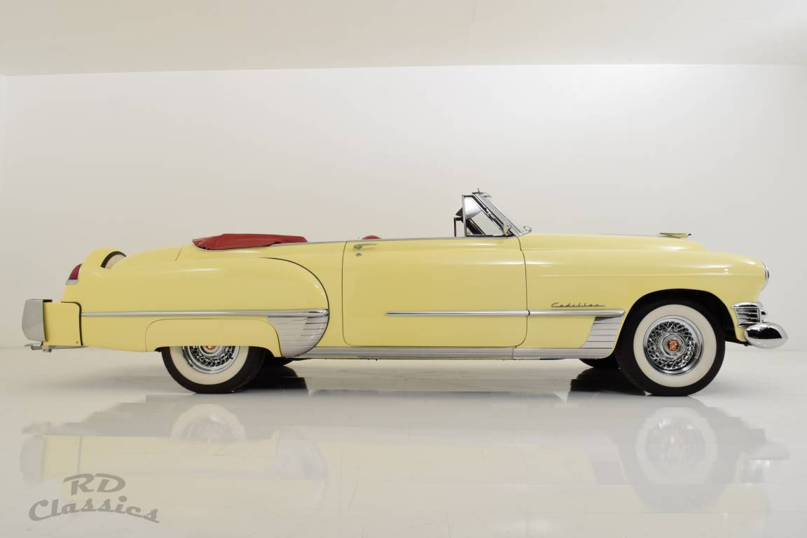 1949 Cadillac Series 62 Convertible / Continental Kit! For Sale (picture 3 of 6)