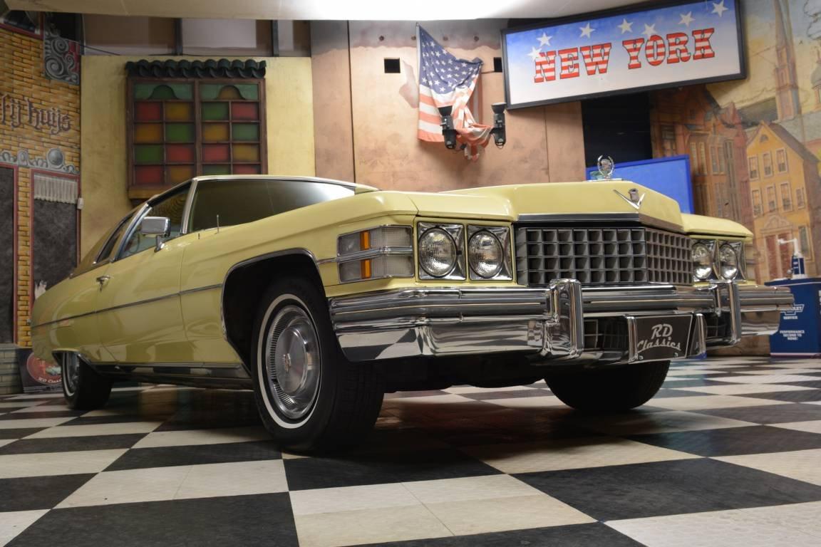 1974 Cadillac Deville 2D Coupe *Prachtexemplar* For Sale (picture 1 of 6)