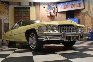 1974 Cadillac Deville 2D Coupe *Prachtexemplar* For Sale