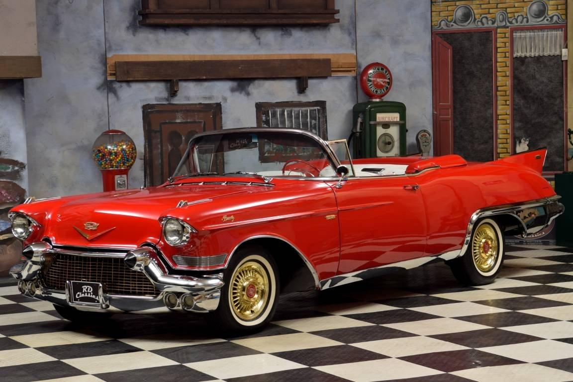 1957 Cadillac Eldorado Biarritz Convertible / Inkl. TUV und For Sale (picture 2 of 6)