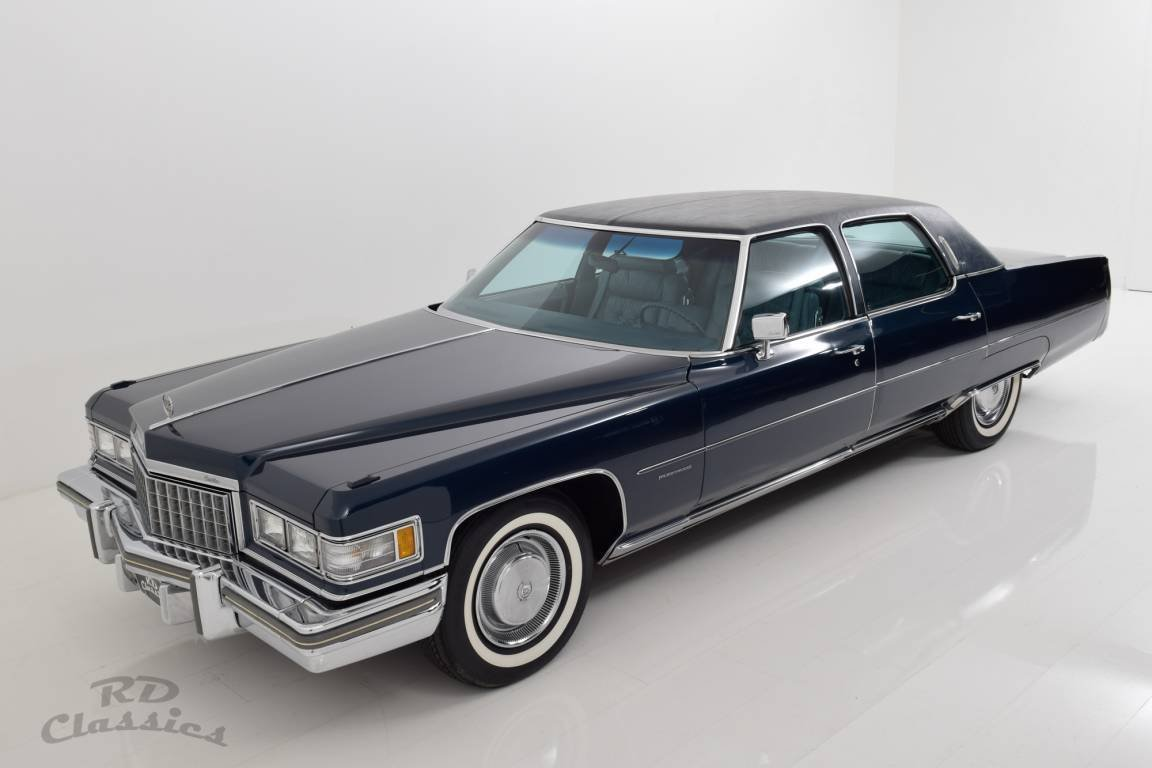 1976 Cadillac Fleetwood Brougham For Sale (picture 1 of 6)