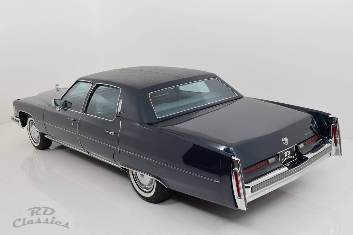1976 Cadillac Fleetwood Brougham For Sale (picture 2 of 6)