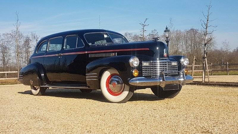 Cadillac 75 Fleetwood Imperial Limousine 1941 For Sale (picture 1 of 6)