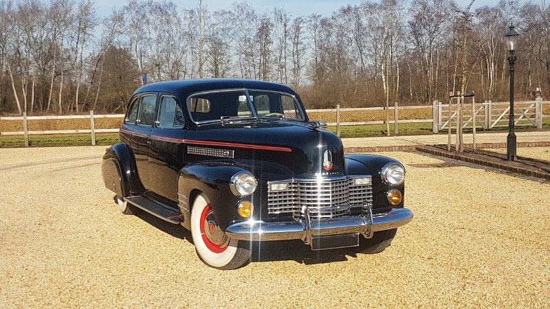 Cadillac 75 Fleetwood Imperial Limousine 1941 For Sale (picture 2 of 6)