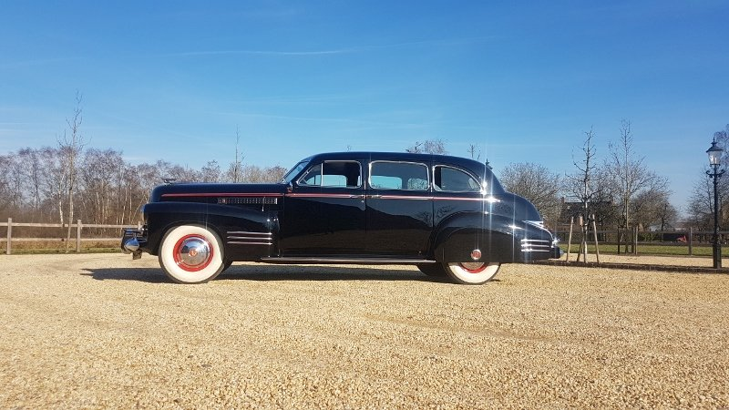 Cadillac 75 Fleetwood Imperial Limousine 1941 For Sale (picture 3 of 6)
