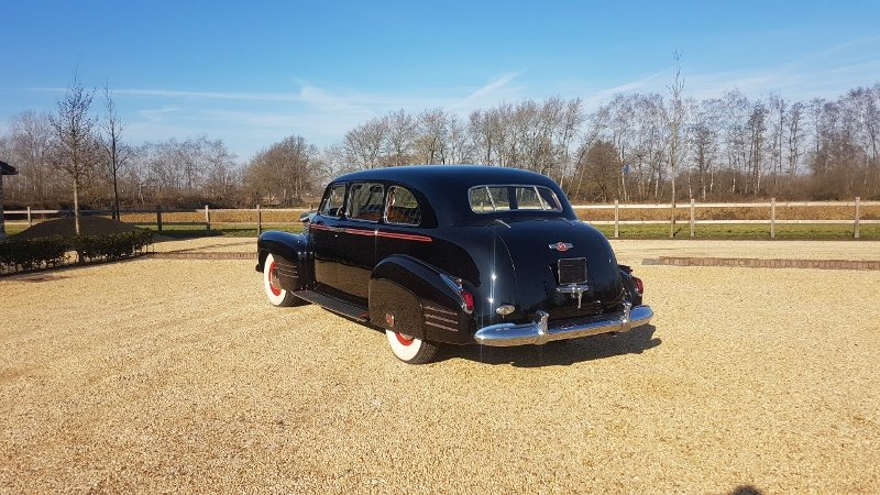 Cadillac 75 Fleetwood Imperial Limousine 1941 For Sale (picture 4 of 6)