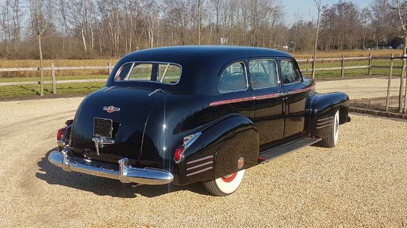 Cadillac 75 Fleetwood Imperial Limousine 1941 For Sale (picture 5 of 6)