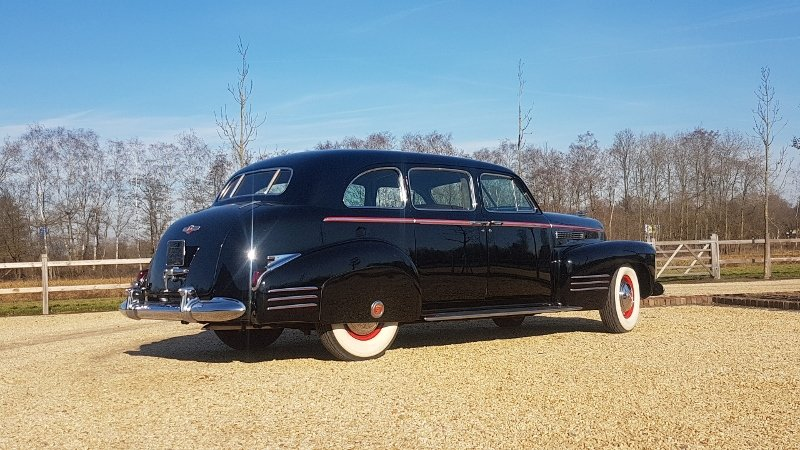 Cadillac 75 Fleetwood Imperial Limousine 1941 For Sale (picture 6 of 6)