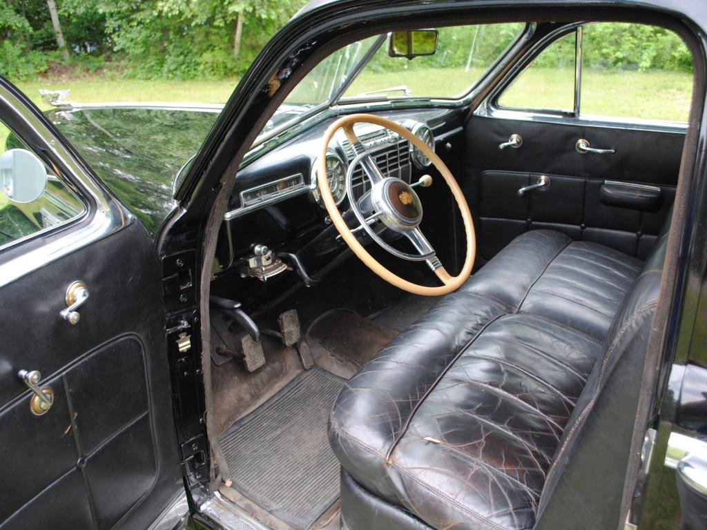 1941 Cadillac Series 75 Imperial Limo = very Rare Black $32k For Sale (picture 4 of 6)