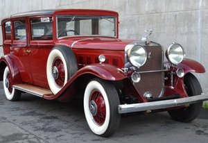 1930 Cadillac V-16 Landaulette De Luxe = Rare 1 of RHD $375k For Sale