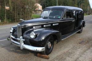 1942 1940 LaSalle Hearse Wagon = Rare Black driver $obo For Sale
