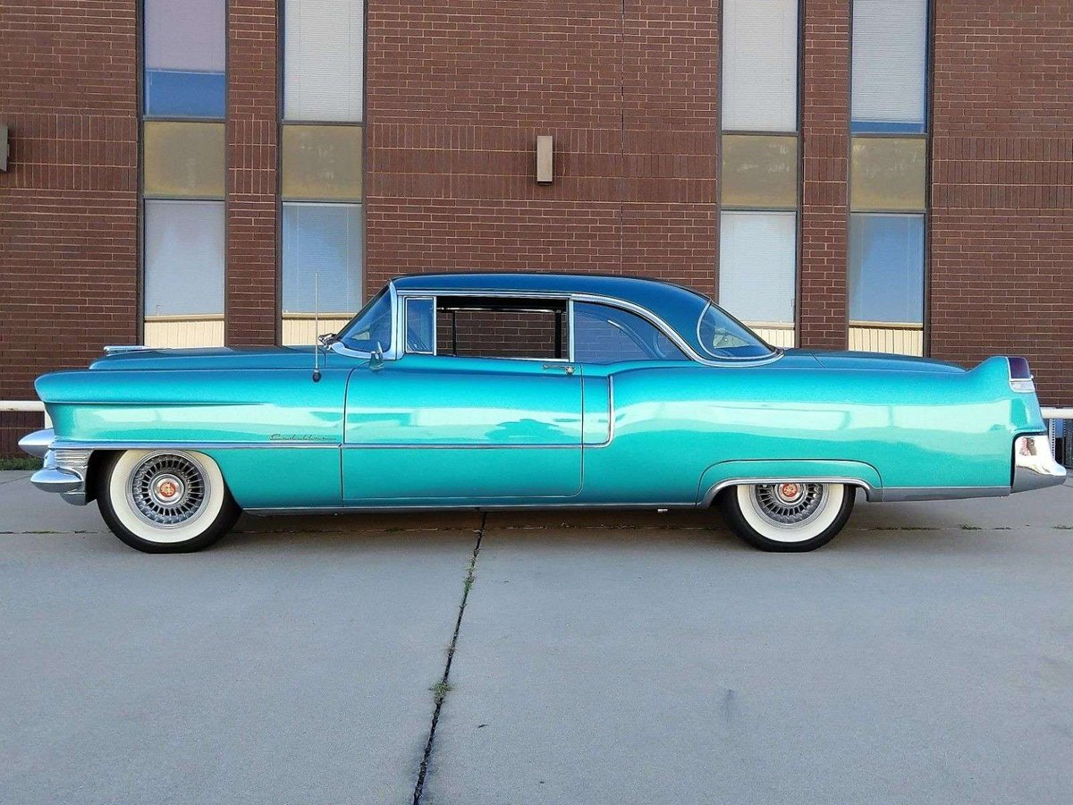 Cadillac Coupe 1955 Very Nice Car 1955 & 50 USA Classics For Sale (picture 2 of 6)