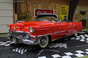 1954 CADILLAC Convertible  For Sale by Auction