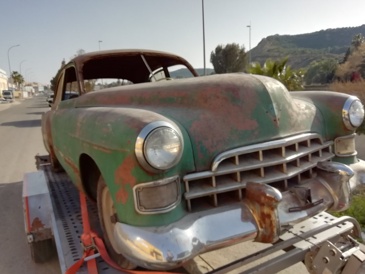 1948 LHD Cadillac series 62 sedan For Sale (picture 1 of 6)