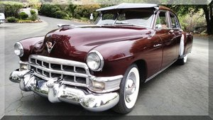 1949 Cadillac Fleetwood 60 Special = clean Maroon AC  $24.9k For Sale
