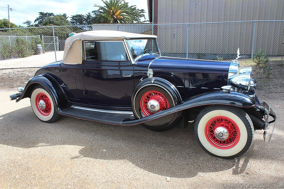 Tvr For Sale Usa >> 1932 Cadillac 355B Convertible Coupe = Rare Restored $120k ...