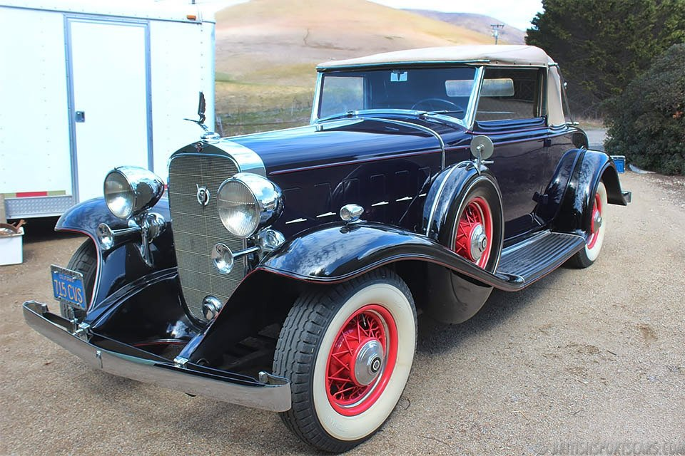 1932 Cadillac 355B Convertible Coupe = Rare Restored $120k For Sale (picture 2 of 6)