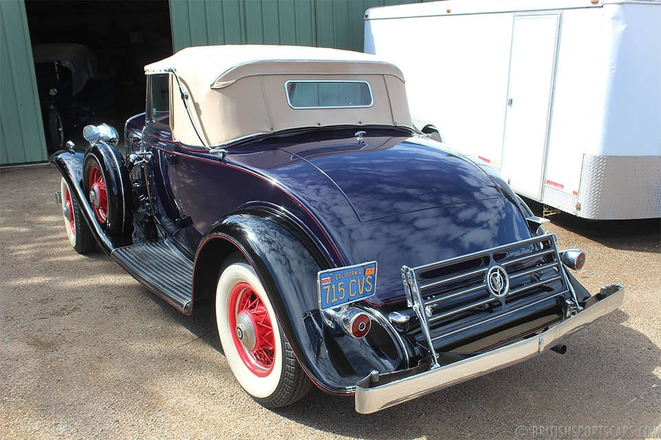 1932 Cadillac 355B Convertible Coupe = Rare Restored $120k For Sale (picture 3 of 6)