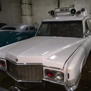 1970 Cadillac Ambulance for sale For Sale