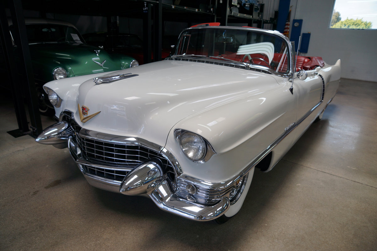 1955 Cadillac Series 62 Convertible recently restored SOLD (picture 1 of 6)