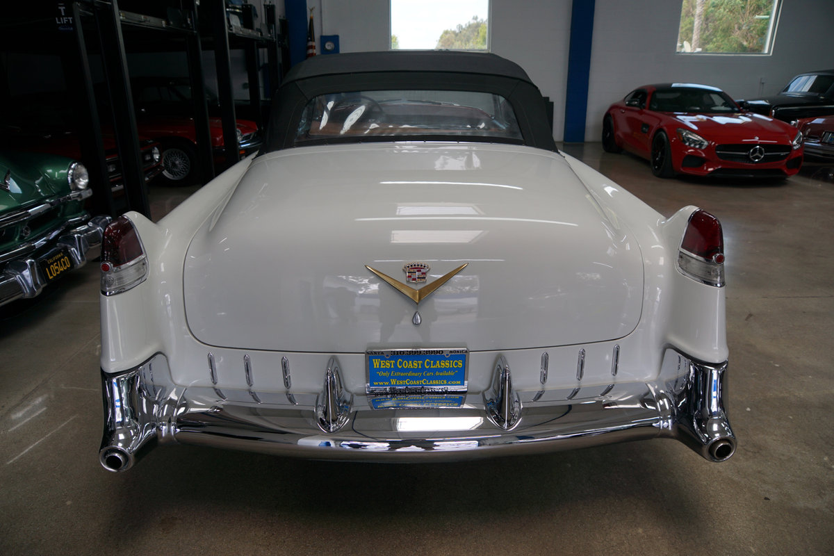 1955 Cadillac Series 62 Convertible recently restored SOLD (picture 4 of 6)