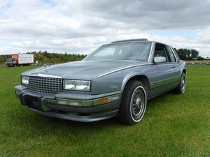 1991 Cadillac Eldorado Biarritz at Morris Leslie Auction 17th Aug