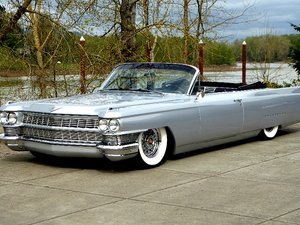 1964 Cadillac Deville Convertible = Custom Low low miles  For Sale