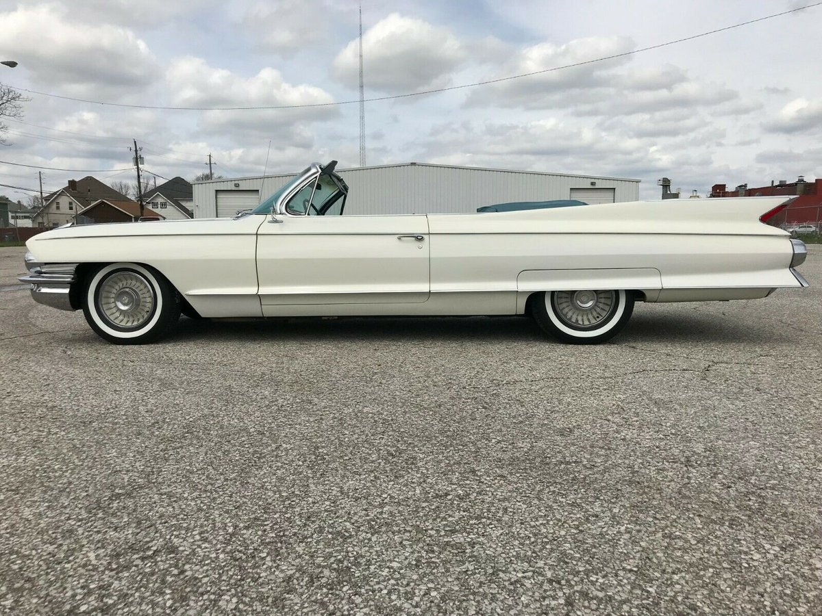1961 Cadillac Eldorado Biarritz Convertible For Sale (picture 2 of 6)