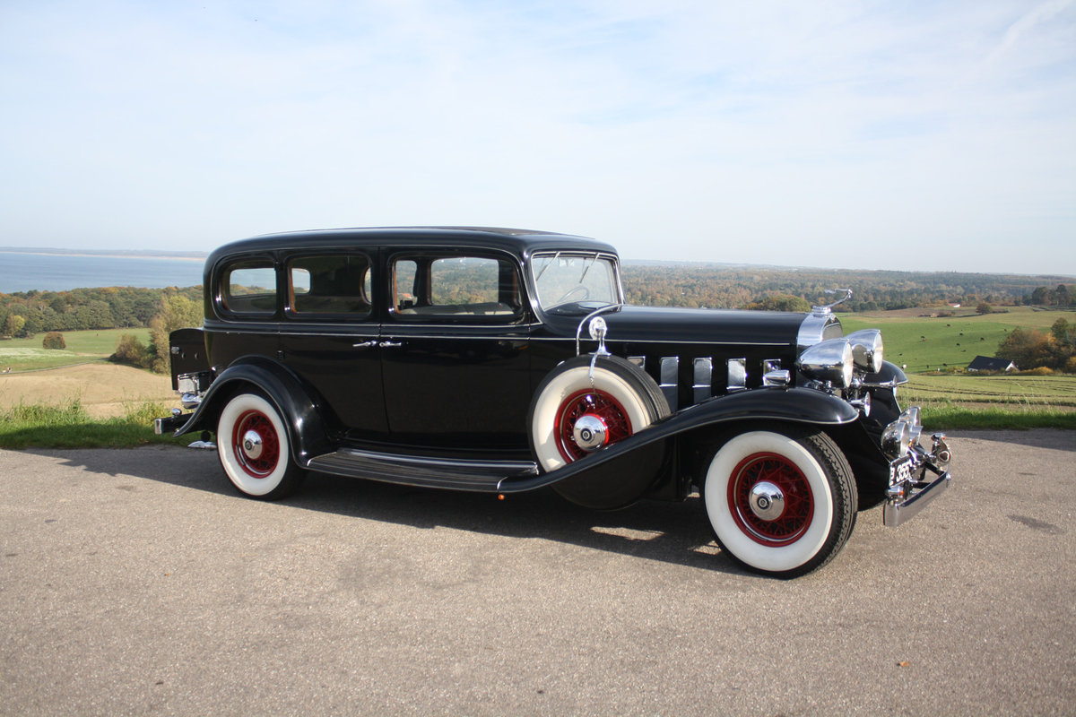1932 Cadillac 355 B Limousine The only one in Europe! For Sale (picture 1 of 6)