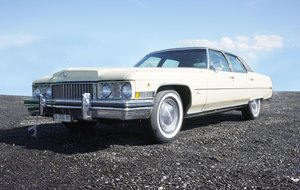 1973 Cadillac Fleetwood Brougham For Sale by Auction