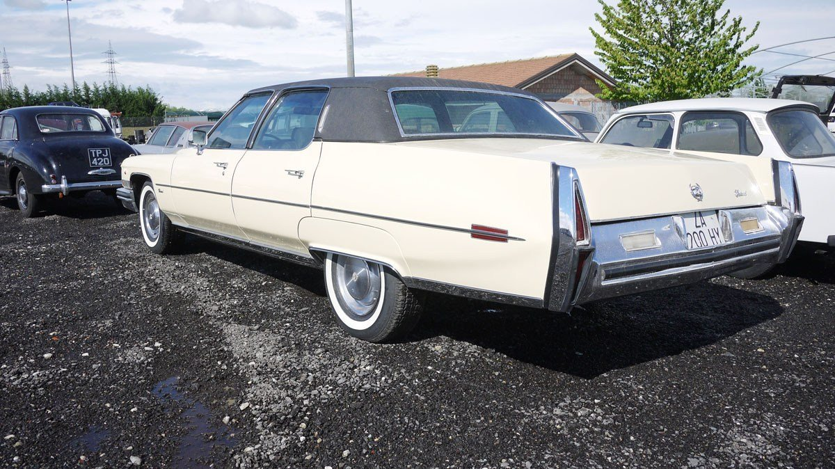 1973 Cadillac Fleetwood Brougham For Sale by Auction (picture 2 of 4)