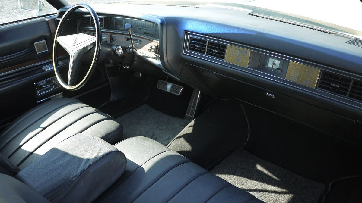 1973 Cadillac Fleetwood Brougham For Sale by Auction (picture 3 of 4)