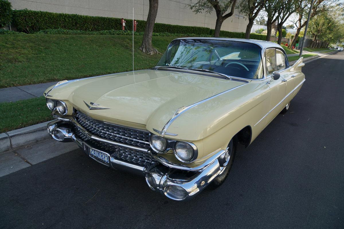 1959 Cadillac DeVille 6 Window 4 Dr Hardtop 'Survivor' For Sale (picture 1 of 6)
