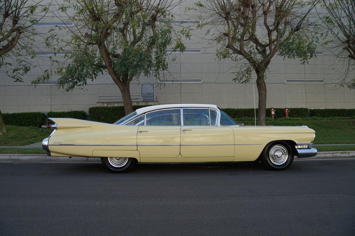 1959 Cadillac DeVille 6 Window 4 Dr Hardtop 'Survivor' For Sale (picture 3 of 6)