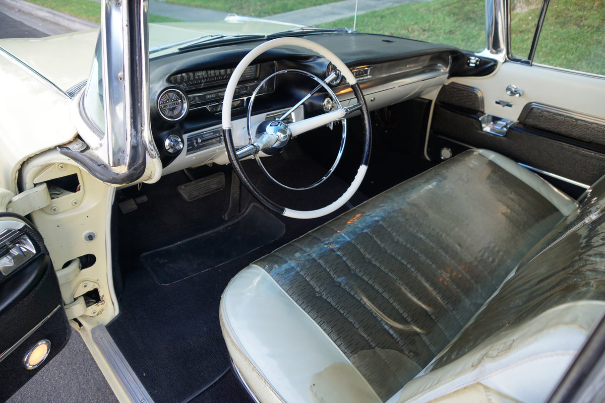 1959 Cadillac DeVille 6 Window 4 Dr Hardtop 'Survivor' For Sale (picture 5 of 6)