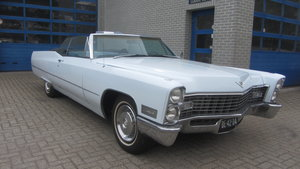 Cadillac de Ville Conv 1967 & 50 USA Classics For Sale