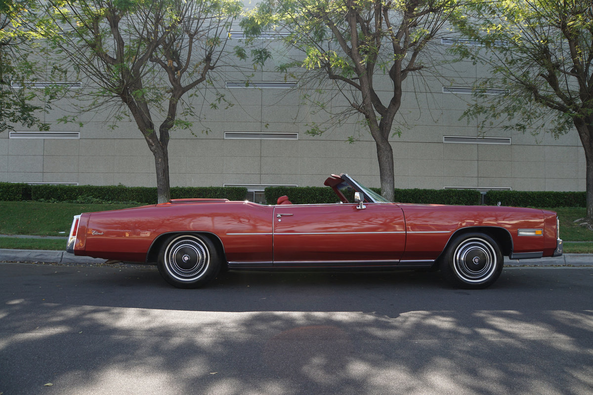 1976 Cadillac Eldorado Convertible with 952 original miles! For Sale (picture 3 of 6)
