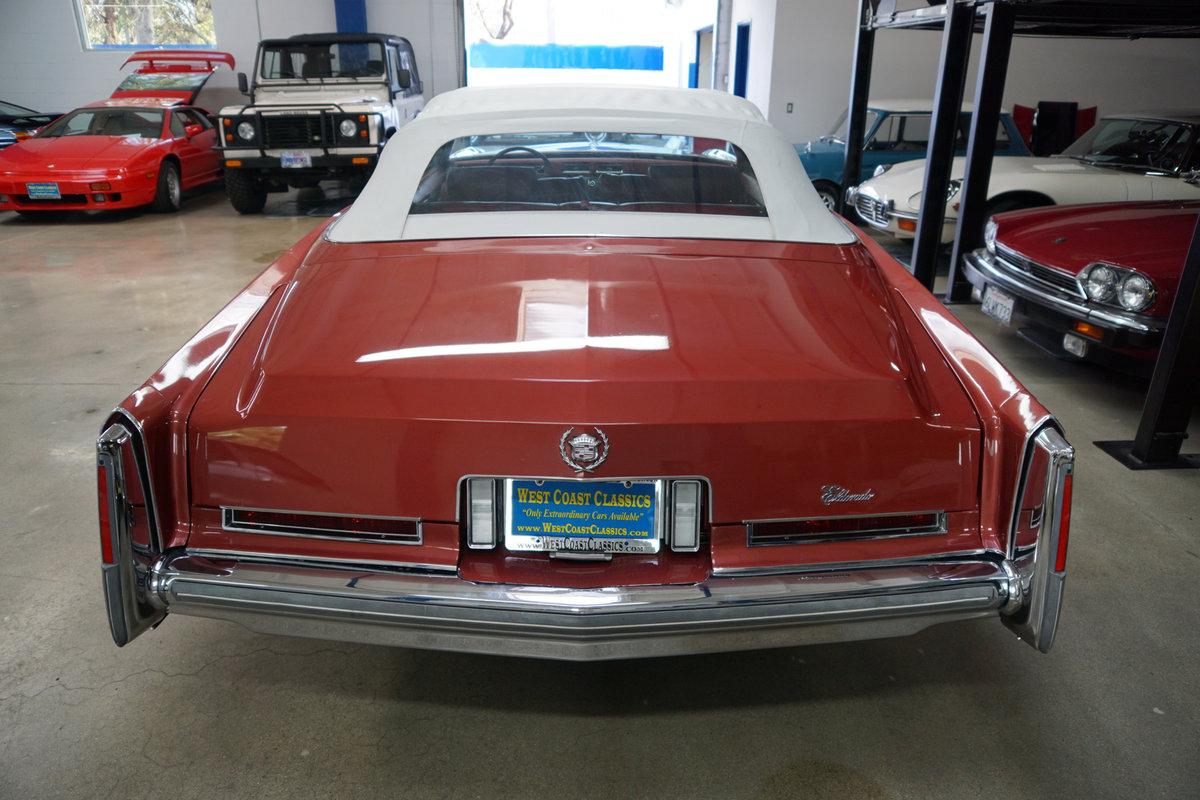 1976 Cadillac Eldorado Convertible with 952 original miles! For Sale (picture 4 of 6)