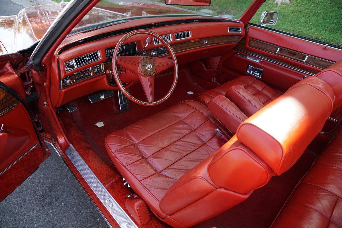 1976 Cadillac Eldorado Convertible with 952 original miles! For Sale (picture 5 of 6)