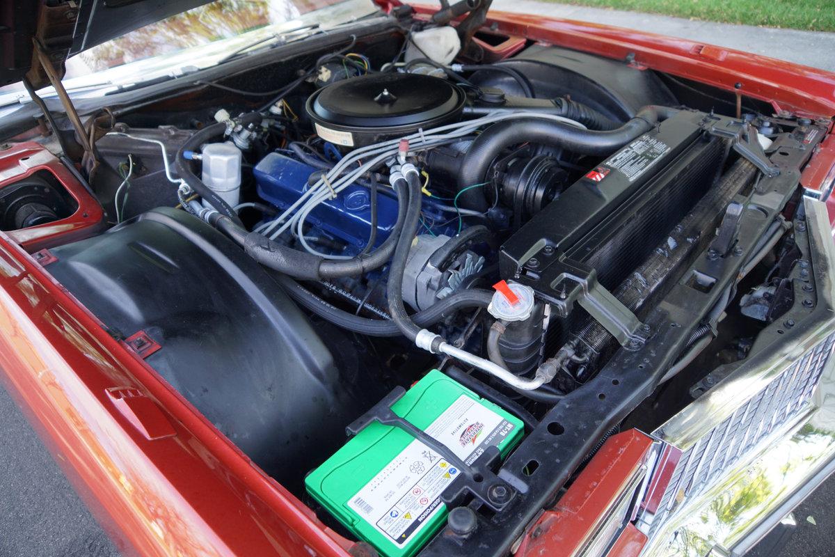 1976 Cadillac Eldorado Convertible with 952 original miles! For Sale (picture 6 of 6)
