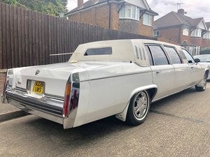 1984 Cadillac Fleetwood stretch limo Rare