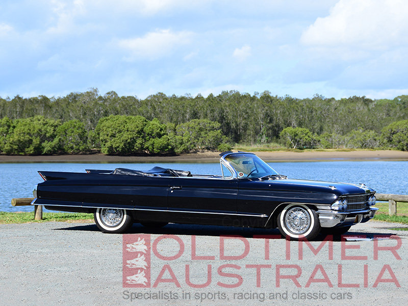 1962 Cadillac Series 62 Convertible For Sale (picture 1 of 6)