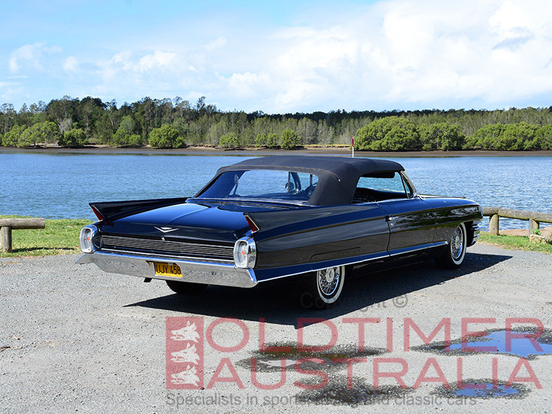 1962 Cadillac Series 62 Convertible For Sale (picture 3 of 6)