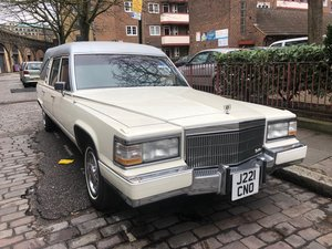 1992 Cadillac Brougham Hearse For Sale