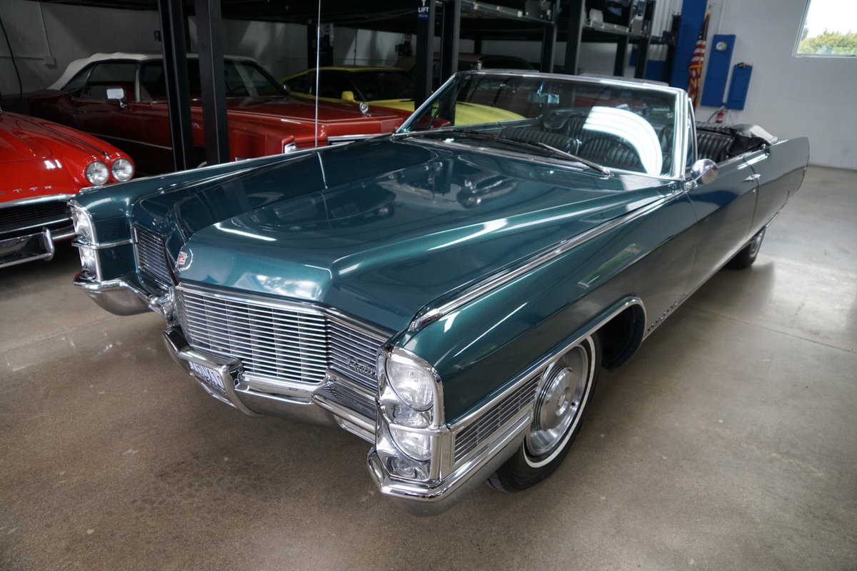 Orig California 1965 Cadillac Eldorado Convertible SOLD (picture 1 of 6)