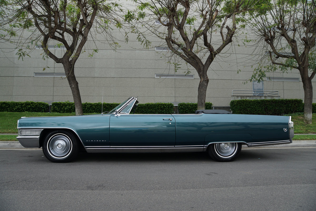 Orig California 1965 Cadillac Eldorado Convertible SOLD (picture 2 of 6)