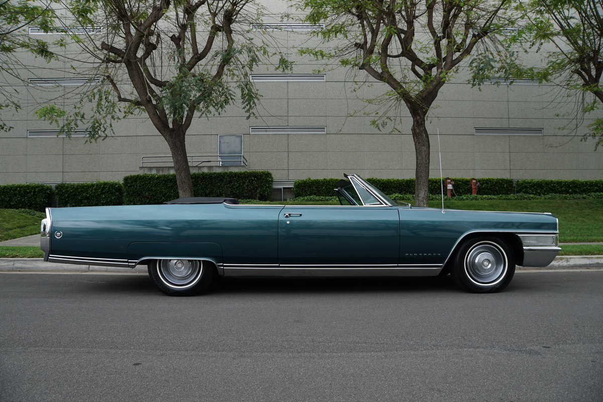 Orig California 1965 Cadillac Eldorado Convertible SOLD (picture 3 of 6)