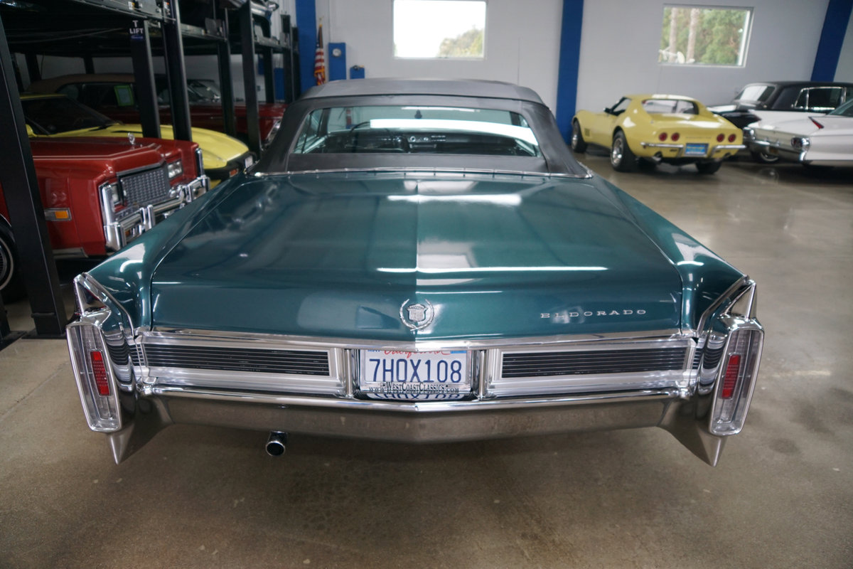 Orig California 1965 Cadillac Eldorado Convertible SOLD (picture 4 of 6)